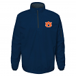 "Auburn Tigers NCAA ""Apex"" Men's 1/4 Zip Pullover Performance Jacket"