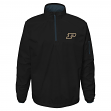"Purdue Boilermakers NCAA ""Apex"" Men's 1/4 Zip Pullover Performance Jacket"