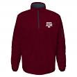 "Texas A&M Aggies NCAA ""Apex"" Men's 1/4 Zip Pullover Performance Jacket"