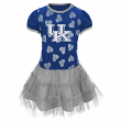 "Kentucky Wildcats NCAA ""Love to Dance"" Toddler Girls Tutu Dress"