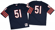 Dick Butkus Chicago Bears Mitchell & Ness Authentic 1966 Navy NFL Jersey