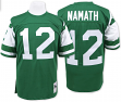 Joe Namath New York Jets Mitchell & Ness Authentic 1968 Green NFL Jersey