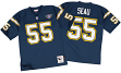 Junior Seau San Diego Chargers Mitchell & Ness Authentic 1994 Blue NFL Jersey