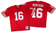Joe Montana San Francisco 49ers Mitchell & Ness Authentic 1989 Red NFL Jersey