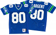 Steve Largent Seattle Seahawks Mitchell & Ness Authentic 1985 Blue NFL Jersey