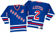 Brian Leetch New York Rangers Mitchell & Ness Authentic 1993 Blue NHL Jersey