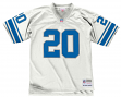 Barry Sanders Detroit Lions Men's NFL Mitchell & Ness Premier White Jersey