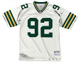 Reggie White Green Bay Packers Men's NFL Mitchell & Ness Premier White Jersey