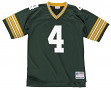 Brett Favre Green Bay Packers Men's NFL Mitchell & Ness Premier Green Jersey