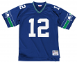 Seattle Seahawks Men's NFL Mitchell & Ness Premier Blue 12th Man Jersey