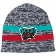 "Vancouver Grizzlies Mitchell & Ness NBA ""Static"" Cuffless Tri-Blend Knit Hat"