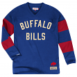 "Buffalo Bills Mitchell & Ness NFL ""Field Goal"" Men's Heavyweight L/S Shirt"