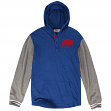 "Buffalo Bills Mitchell & Ness NFL ""Mid-Season"" Long Sleeve Hooded Men's Shirt"