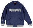 "Dallas Cowboys Mitchell & Ness NFL ""Play Call"" Men's Premium Fleece Jacket"