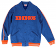 "Denver Broncos Mitchell & Ness NFL ""Play Call"" Men's Premium Fleece Jacket"