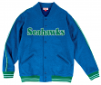 "Seattle Seahawks Mitchell & Ness NFL ""Play Call"" Men's Premium Fleece Jacket"