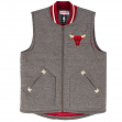 "Chicago Bulls Mitchell & Ness NBA ""Victory"" Throwback Vest Jacket"