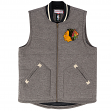 "Chicago Blackhawks Mitchell & Ness NHL ""Victory"" Throwback Vest Jacket"