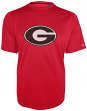 "Georgia Bulldogs NCAA Champion ""Train Hard"" Men's Performance Shirt - Red"