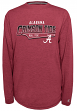 "Alabama Crimson Tide NCAA Champion ""Earn It"" Men's Long Sleeve Shirt"
