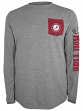 "Alabama Crimson Tide NCAA Champion ""Extra Point"" Men's L/S Pocket T-Shirt"