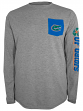 "Florida Gators NCAA Champion ""Extra Point"" Men's L/S Pocket T-Shirt"