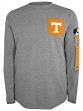 """Tennessee Volunteers NCAA Champion """"Extra Point"""" Men's L/S Pocket T-Shirt"""