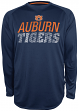 "Auburn Tigers NCAA Champion ""Be a Beast"" Long Sleeve Performance Shirt"