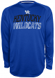"Kentucky Wildcats NCAA Champion ""Be a Beast"" Long Sleeve Performance Shirt"