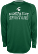 "Michigan State Spartans NCAA Champion ""Be a Beast"" Long Sleeve Performance Shirt"