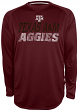 "Texas A&M Aggies NCAA Champion ""Be a Beast"" Long Sleeve Performance Shirt"