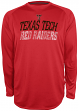 "Texas Tech Red Raiders NCAA Champion ""Be a Beast"" Long Sleeve Performance Shirt"