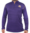 "LSU Tigers NCAA Champion ""Zone Blitz"" Men's 1/4 Zip Pullover Shirt"