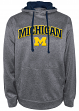 "Michigan Wolverines NCAA Champion ""Dominate"" Men's Performance Sweatshirt"
