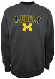 "Michigan Wolverines NCAA Champion ""Safety"" Men's Pullover Crew Sweatshirt"