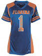 "Florida Gators Women's NCAA Champion ""Kick Off"" Fashion Football Jersey"