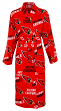 "Arizona Cardinals NFL ""Wildcard"" Men's Micro Fleece Robe"