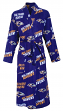 "Baltimore Ravens NFL ""Wildcard"" Men's Micro Fleece Robe"