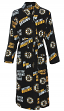 "Boston Bruins NHL ""Wildcard"" Men's Micro Fleece Robe"