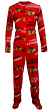 "Chicago Blackhawks NHL ""Winner"" Men's Micro Fleece Union Suit"