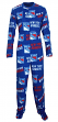 "New York Rangers NHL ""Winner"" Men's Micro Fleece Union Suit"