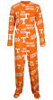 "Tennessee Volunteers NCAA ""Winner"" Men's Micro Fleece Union Suit"