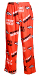 "Denver Broncos NFL ""Playoff"" Men's Micro Fleece Pajama Pants"