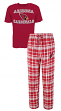 "Arizona Cardinals NFL ""Tiebreaker"" Men's T-shirt & Flannel Pajama Sleep Set"