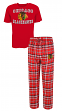 "Chicago Blackhawks NHL ""Tiebreaker"" Men's T-shirt & Flannel Pajama Sleep Set"