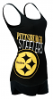 Pittsburgh Steelers NFL Transcend Women's Dual Blend Tank & Short Sleep Set