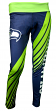 "Seattle Seahawks Women's NFL ""Extreme"" Leggings Yoga Pants"
