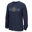 "Philadelphia Union Adidas MLS ""Overlaid"" Men's Long Sleeve T-Shirt"