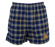 "Notre Dame Fighting Irish NCAA ""Acclaim"" Men's Cotton Flannel Boxer"