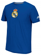 "Real Madrid FC Adidas ""Team Crest"" Men's S/S Performance T-Shirt - Blue"